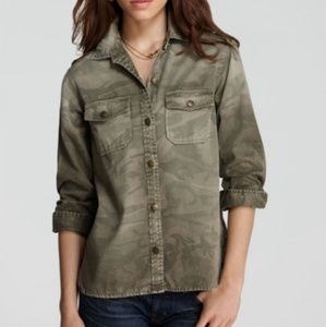 CURRENT ELLIOT • the perfect shirt army camo shirt